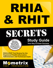 RHIA RHIT Exam Study Guide